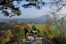 Blick vom Rauenstein (c) Frank Exss / Tourismusverband Sächs. Schweiz