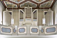 Jehmlich-Orgel, © Bernd Walther / Festung Königstein gGmbH